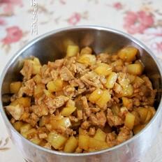 土豆猪肉卤