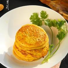 芋头芒果鸡蛋饼