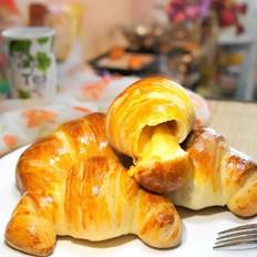 芝士牛角面包