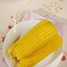水煮甜玉米