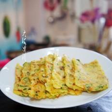 快手早餐——葱香嫩玉米饼