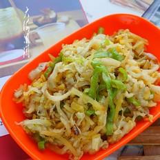 土豆丝炒白菜