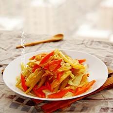 蒜香小炒白菜片