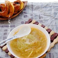 萝卜条粉丝汤