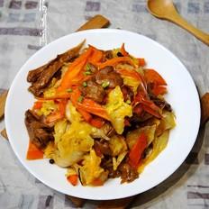 比肉还香的元蘑爆炒大白菜