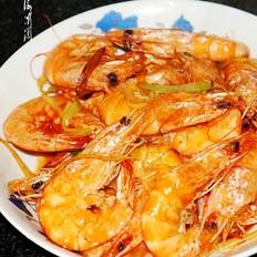 葱姜爆炒大虾