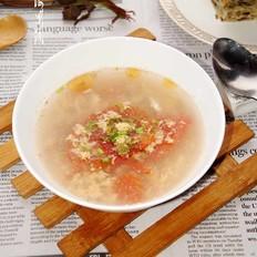 香椿番茄蛋花汤