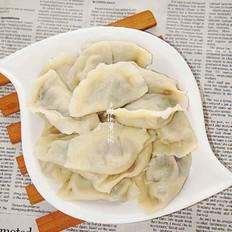 鸵鸟肉蒲公英馅水饺
