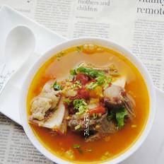 牛尾骨番茄汤