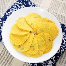 嫩玉米燕麦饼