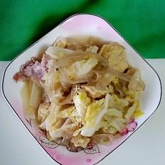 白菜猪肉炖粉条冻豆腐