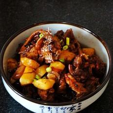 红烧鸭肉土豆