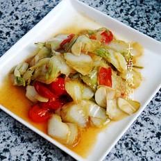 素炒白菜片