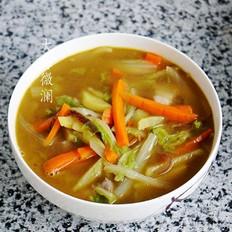 白菜胡萝卜土豆汤