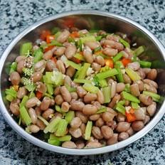花生米凉拌芹菜