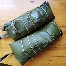 绿豆沙馅粽子