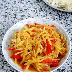 彩椒土豆丝