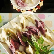 小叶山芹菜猪肉馅水饺