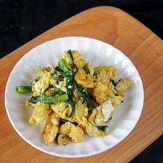 刺嫩芽炒鸡蛋