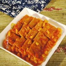 香煎冻豆腐