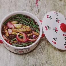 酸甜黄瓜豇豆角