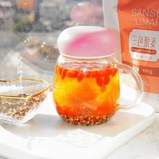 菊花枸杞藜麦茶
