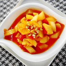 番茄炒冬瓜