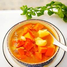 南瓜土豆汤