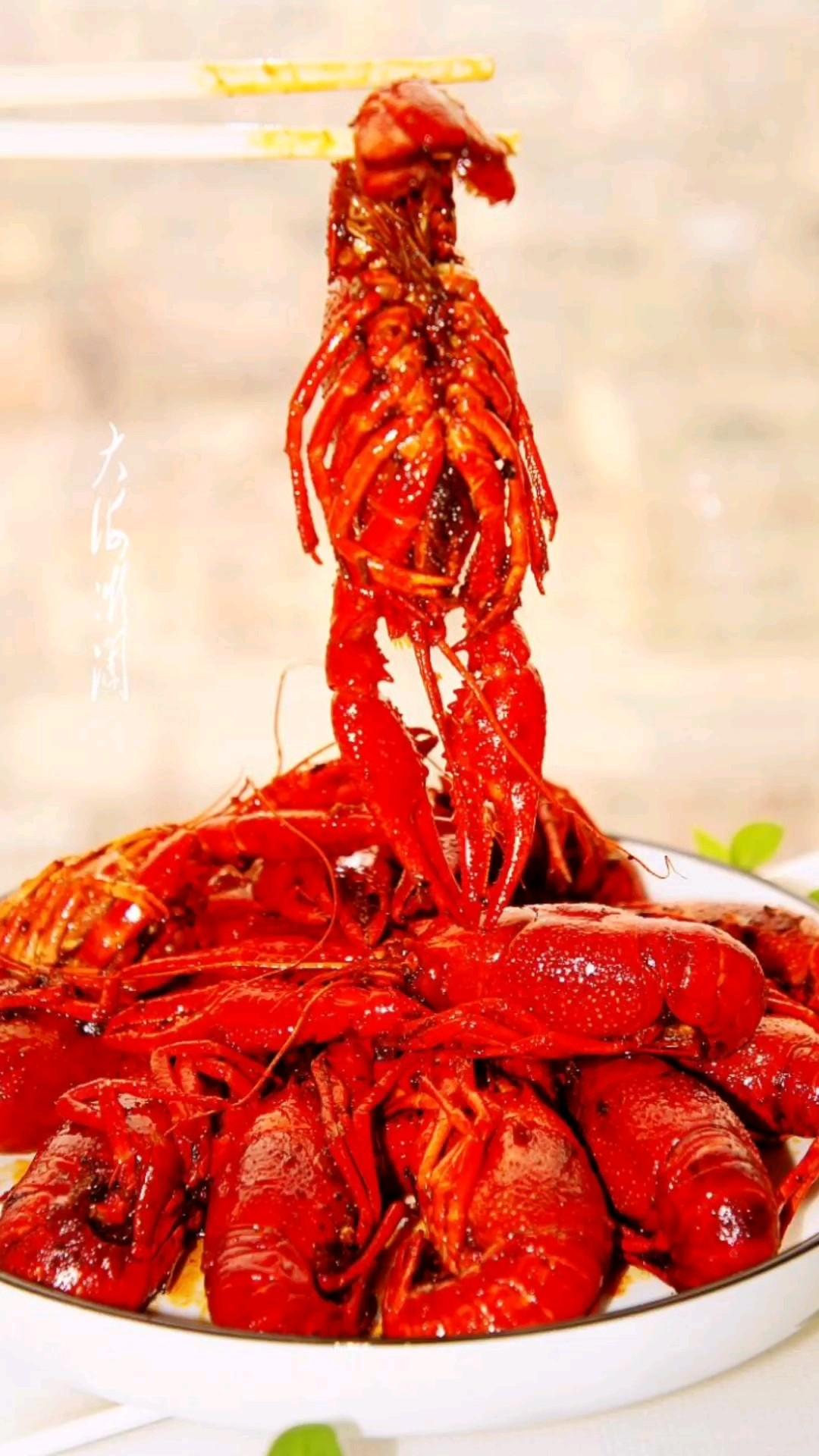 麻辣小龙虾,吃一口就上瘾