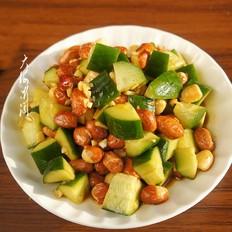 黄瓜拌花生米