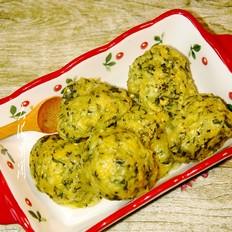 嫩玉米菜团子