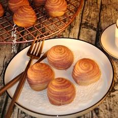 紫薯椰蓉酥皮月饼