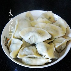 胡萝卜缨猪肉馅水饺