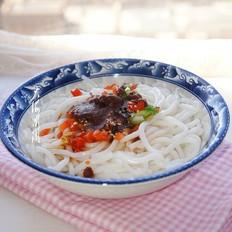 海鸭蛋黄酱拌米线