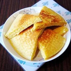 玉米面发面饼