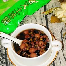 红豆莲子汤,消暑解渴还排毒的做法