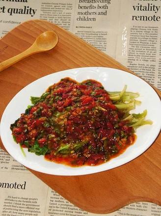 蚝油小生菜的做法