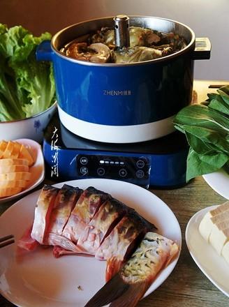 三道鳞鱼火锅的做法