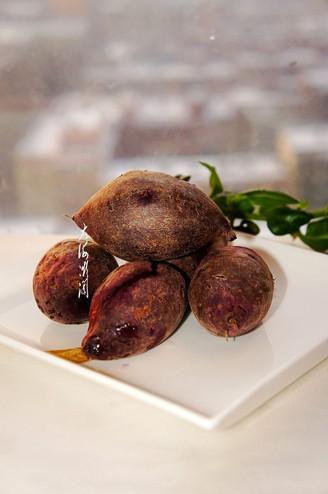 蒸紫薯的做法