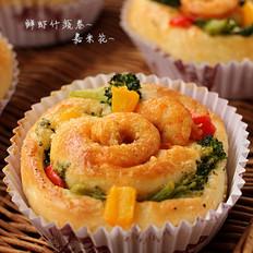 鲜虾什蔬卷
