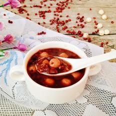 黑米红豆莲子粥