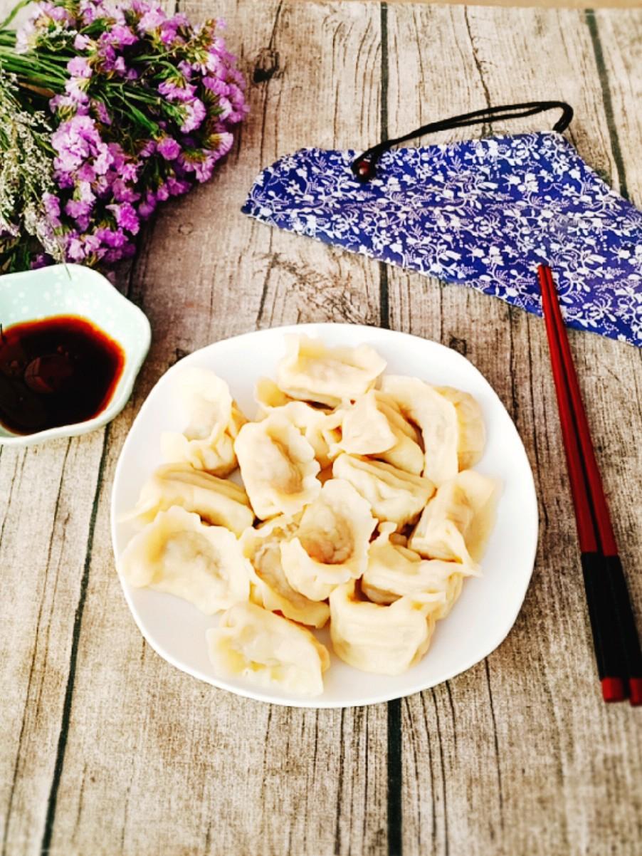 莲藕肉馅饺子