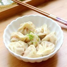 玉米马蹄饺子
