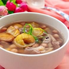 筒骨板栗汤
