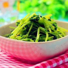 姜丝豌豆苗