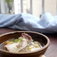 大骨板栗汤