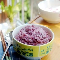 紫薯香米饭