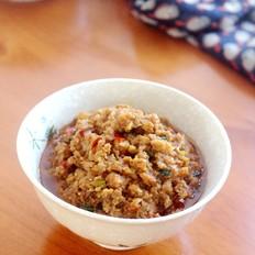 炒肉臊的做法