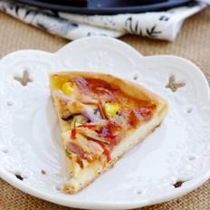 风味腊肠芝心披萨