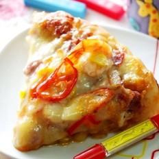 南瓜酱海陆双享披萨